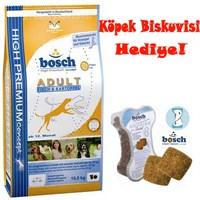 Bosch Yetişkin Köpekler İçin Kuru Köpek Maması Balık & Patates 15Kg Ödül Bisküvisi Hediyeli