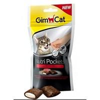 Gimcat Nutripockets Biftekli Malt Kedi Ödülü 60 Gr