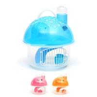 Flip Mantar Şekil Hamster Kafesi Turuncu