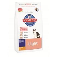 Hill's Science Plan Light Tavuklu Yaşlı Kedi Maması 1,5 Kg (Mature Adult 7 + Light with Chicken)