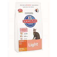 Hill's Science Plan Light Tavuklu Yetişkin Kedi Maması 1,5 Kg (Adult Light with Chicken) fd