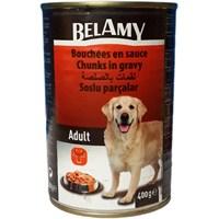 Belamy Biftekli Yetişkin Köpek Konservesi 400 Gr