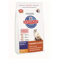 Hill's Science Plan Tüy Yumakları Kontrolü için Tavuklu Yaşlı Kedi Maması 1,5 Kg (Mature Adult 7 + Active Longevity Hairball Control with Chicken) fd