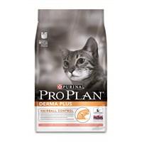 Pro Plan DERMA PLUS Yetişkin Somonlu Kedi Maması 3 Kg (Hairball Control)