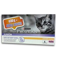 Pro Plan Junior Tavuklu Yavru Kedi Maması 400 + 400 Gr gk