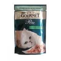 Purina Perle Izgara Alabalık Sebzeli Kedi Maması 85 gr