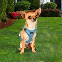 Outdoor Ergonomik Yansıtıcılı Köpek Göğüs Tasması L Mavi