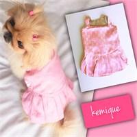 Kemique Brand Gc Pembe Elbise