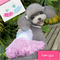 Kemique Twinkle Star Tütülü Elbise - Pembe