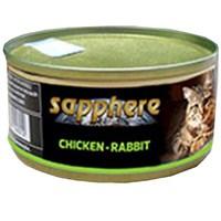 Sapphere Tavuk Ve Tavşan Etli Kedi Konserve Maması 80 Gr