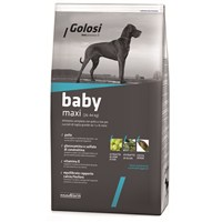 Golosi Dog Baby Maxı Tavuk Etli Ve Pirinçli Büyük Irk Yavru Köpek Maması 12 Kg
