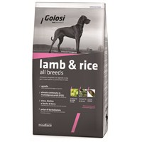 Golosi Dog Kuzu Etli Ve Pirinçli Yetişkin Köpek Maması 3 Kg fd*