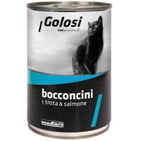 Golosi Chunks / Bocconcini Cat Alabalık ve Somon Balıklı Kedi Konservesi 400 Gr