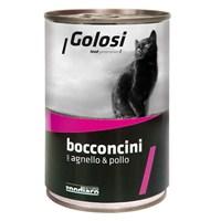 Golosi Chunks / Bocconcini Cat Kuzu ve Tavuk Etli Kedi Konservesi 400 Gr