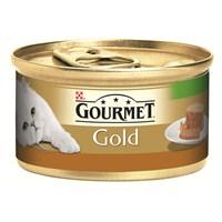 Purina Gourmet Gold Kıyılmış Ördekli Havuçlu ve Sebzeli Konserve Yaş Kedi Maması 85 Gr (1 adet)