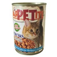 Efefe AppEtite Kedi Konservesi Balıklı 405 Gr