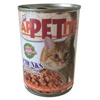 Efefe Appetite Kedi Konservesi Kümes Hayvanlı 405 Gr