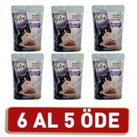 Felix Yavru Kediler İçin Tavuklu Yaş Kedi Maması Pouch 6 Al 5 Öde! 6 X 100 Gr