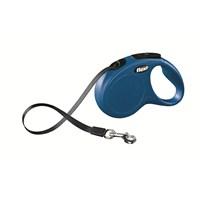 Flexi New Classic 5M Şerit S Mavi Otomatik Tasma