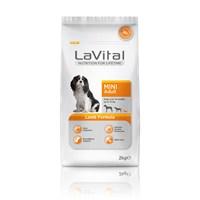 La Vital Dog Mini Adult Lamb Küçük Irk Kuzu Etli Yetişkin Köpek Maması 2 Kg