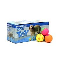 Flip Köpek Oyuncağı Karışık Neon Fosforlu 20 Adet Top