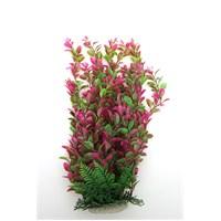 Natural Coral Plastik Bitki 43 Cm