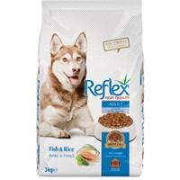 Reflex Dog Food Balıklı & Pirinçli Yetişkin Köpek Maması 3 Kg