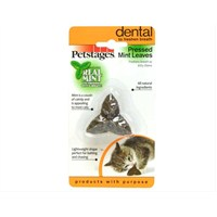 Petstages Mint Leaves (Sıkıştırılmış Catnip Ve Naneden Oluşan Tüketilebilir Kedi Oyuncağı)