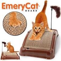Buffer EmeryCat Kedi Tırmalama Platformu Kedi ve Oyuncak