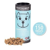 Pooch & Mutt Digestion Wind Hassas Sindirim Sistemli Doğal Köpek Ödülü 150 Adet, Hipoalerjik, Elde Pişirilmiş, Doğal, Katkısız )