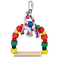 Trixie Papağan Oyuncaklı Tünek, 20X29Cm