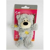 Eastland Kedi Otlu Hışır Peluş Ayı 11Cm