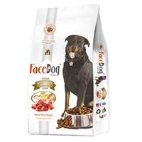 Face Dog Basic Kuzu Etli Yetişkin Köpek Maması 15 Kg