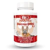 Pet Active Dermadog 1,5 Biotin, Çinko Sarımsaklı Mayası Tableti 75 Gr