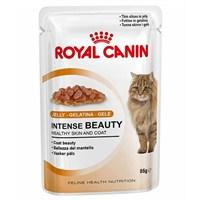Royal Canin Jelly Intense Beauty Kedi Maması 85 Gr - 12 Adet