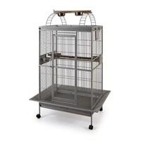 Qh Pet Papağan Kafesi Büyük Gümüş 81X59x168