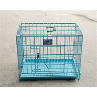 Bobo Köpek S:47.8X32X37Cm Katlanabilir Izgaralı Kafes