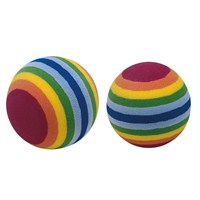 Ferplast Pa 5404 Rainbow Ball (X2) Köpek Oyuncağı