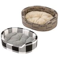 Ferplast Dandy 95 B Köpek Yatağı + Krk Minderi 95X60