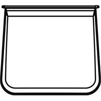 Ferplast Max Bella Siyah Kedi Tuvalet Kapağı