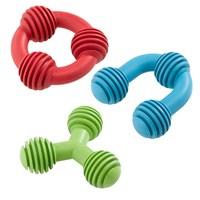 Ferplast Köpek Dişleri İçin Aromalı Kauçuk Oyuncak Yeşil 11 cm