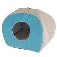 Ferplast Tulip Kedi Köpek Evi Orta Boy Mavi Renk