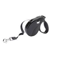 Ferplast Amigo Mini Tape Siyah Köpek Otomatik Gezdirme Kayışı