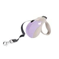 Ferplast Amigo Mini Tape Bej-Mor Köpek Otomatik Gezdirme Kayışı