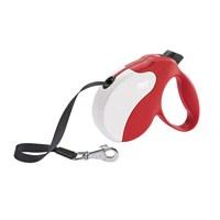 Ferplast Amigo M Tape Kırmızı-Beyaz Otomatik Köpek Gezdirme Kayısı