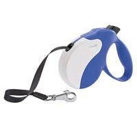 Ferplast Amigo L Tape Mavi Renk-Beyaz Otomatik Köpek Gezdirme Kayısı