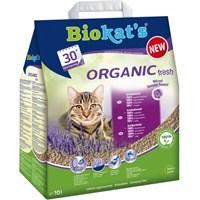 Biokats Organic Fresh Kedi Kumu Lavantalı 10 Lt kk