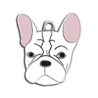 Dalis Pet Tag - French Bulldog Köpek Künyesi (İsimlik)