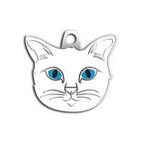 Dalis Pet Tag - Ankara Kedisi Kedi Künyesi (İsimlik)