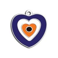 Dalis Pet Tag - Mineli Seri Küçük Nazar Boncuklu Künye (İsimlik)